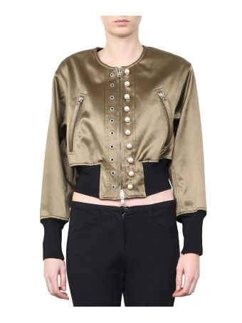 3.1 Phillip Lim Cropped Bomber
