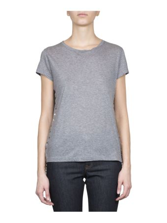 Valentino Rockstud Cotton T-shirt