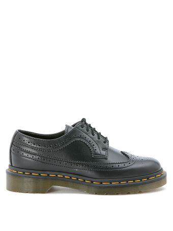 Dr Martens Black Lace Up Brogue Shoes
