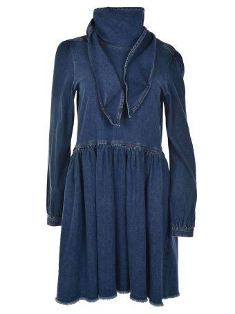 Semicouture Denim Dress