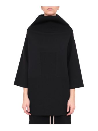 Rick Owens Crater Wool Top