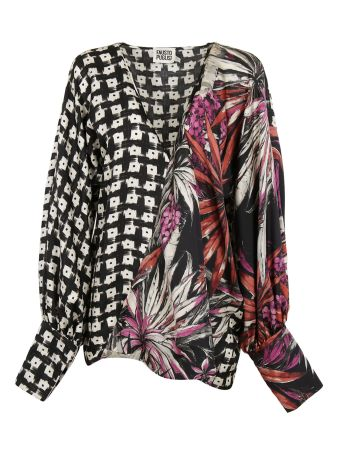 Fausto Puglisi Flower Print Blouse