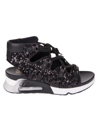 Ash Trainer-style Sequin Sandals