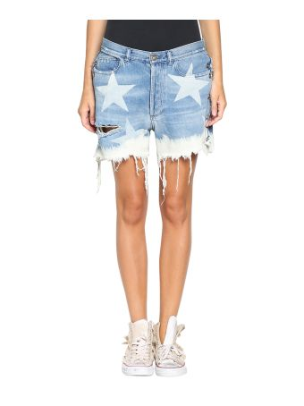 Faith Connexion Denim Cotton Shorts