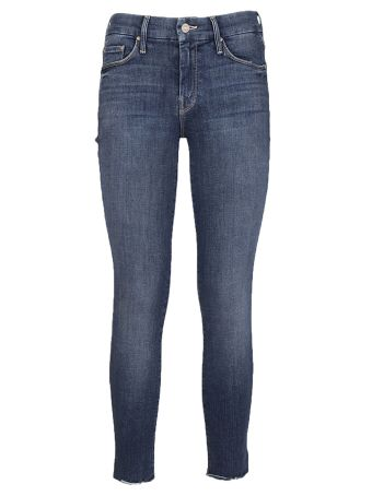 Mother Ankle Fray Jeans