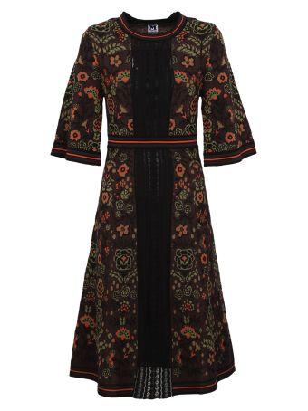 M Missoni Flower Print Dress
