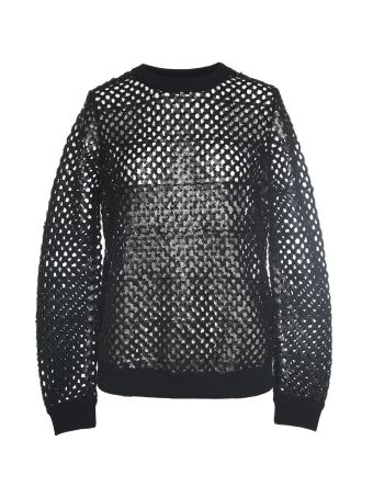 Tory Burch Lansing Sequins-embroidery Wool-blend Sweater