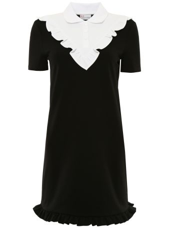 Ruffled Jersey Dress