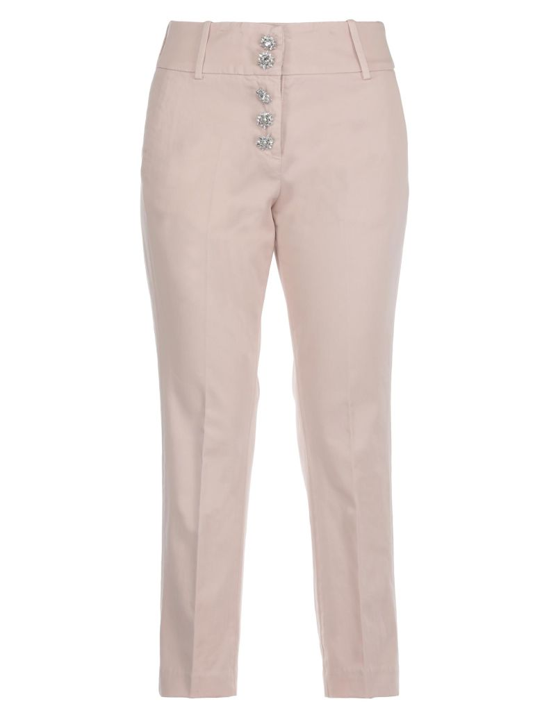 Fairey trousers - Pink & Purple Dondup