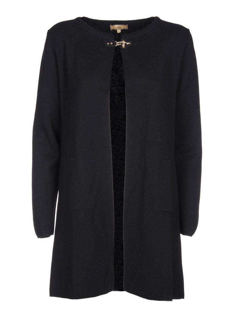 Fay Fay Buckled Cardi-coat