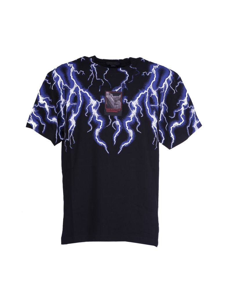 Alexander Wang Lightning Collage T Shirt Black Men 39 S