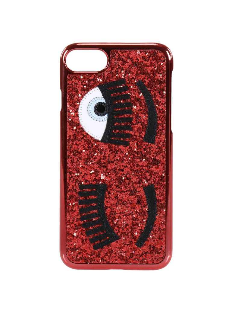 CASE IPHONE 7PLUS WITH GLITTER EYES