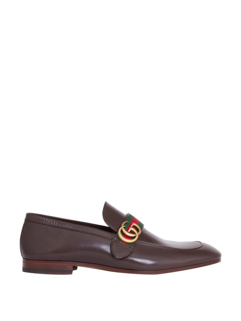 White Gucci Boat Shoes