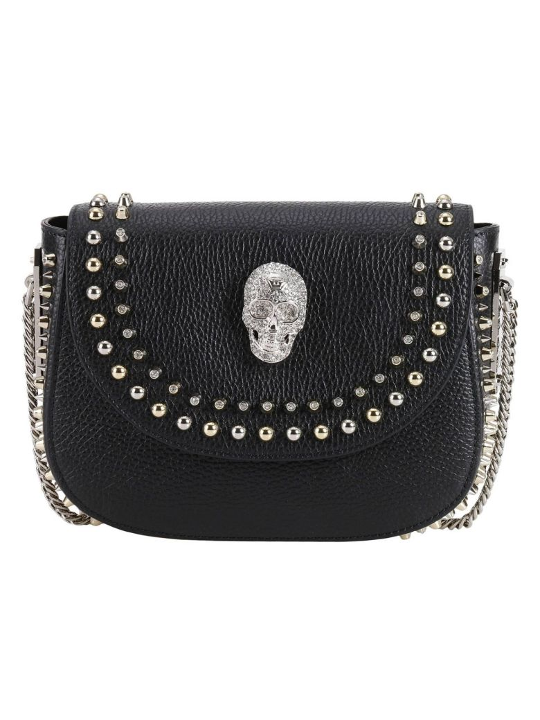 PHILIPP PLEIN Crossbody Bags Shoulder Bag Women in Black