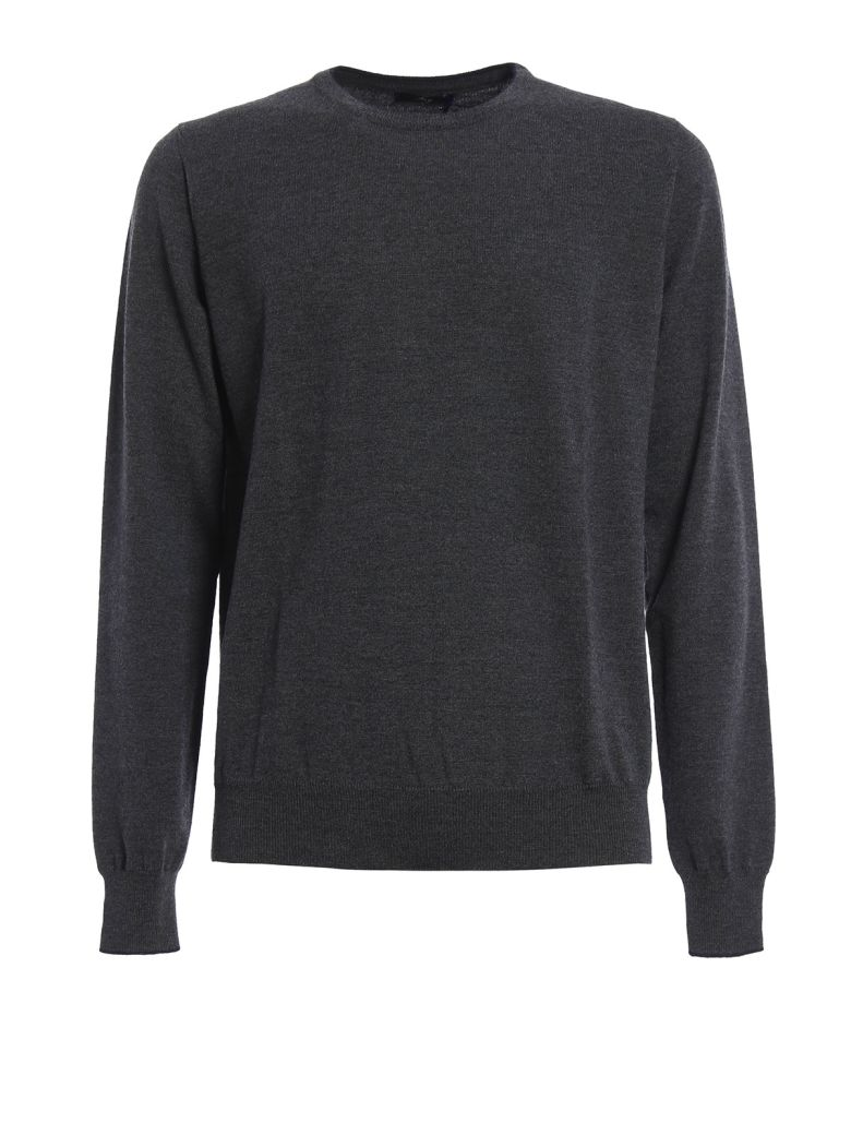 Fay  CONTRASTING TRIMMED PULLOVER