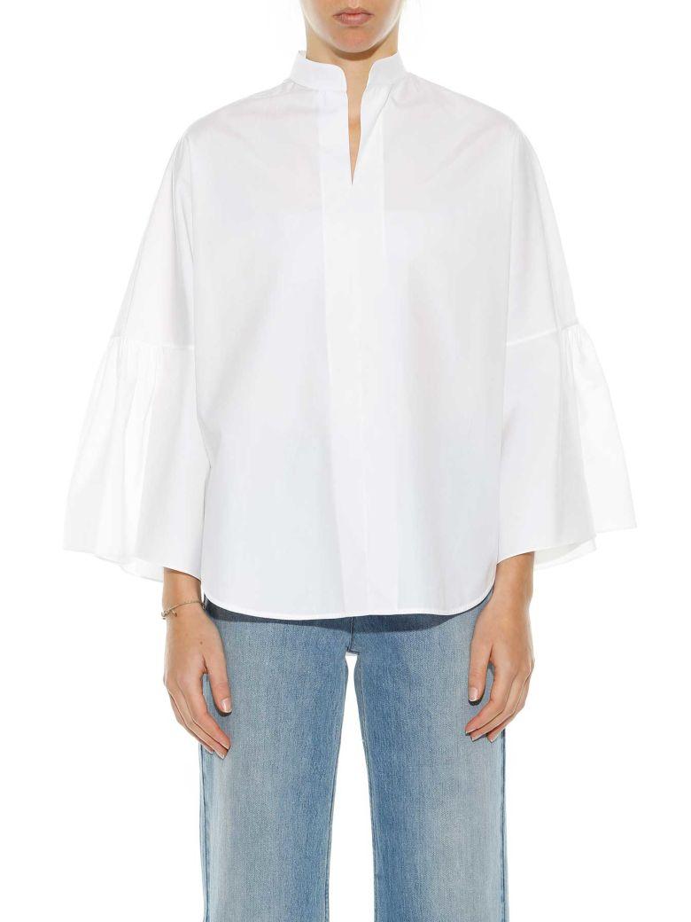 Valentino Cottons Valentino Mandarin Collar Blouse
