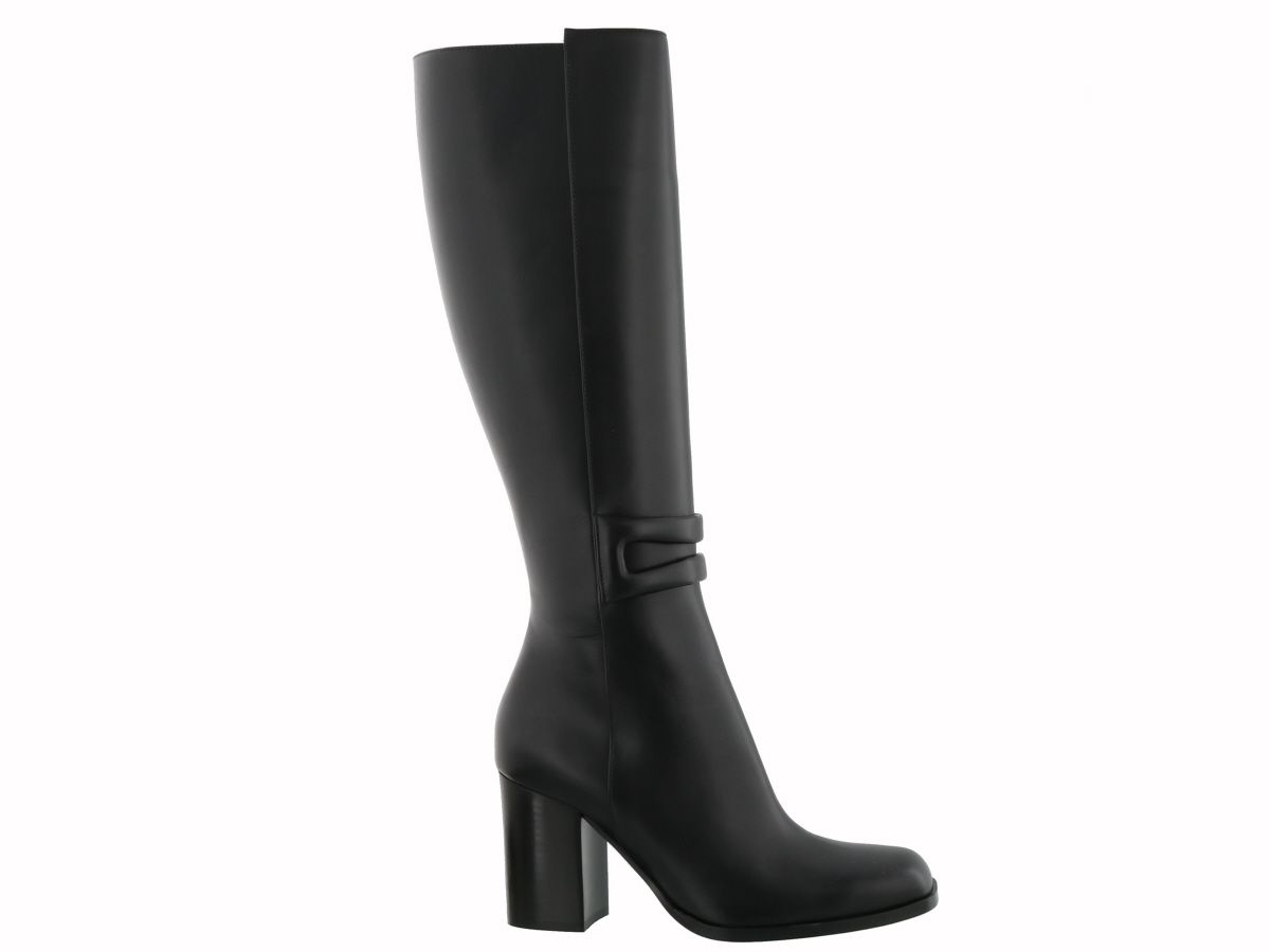 Loewe Square-toe leather knee-high boots Discount Find Great Shopping Online Original Newest Sale Online aB0I7
