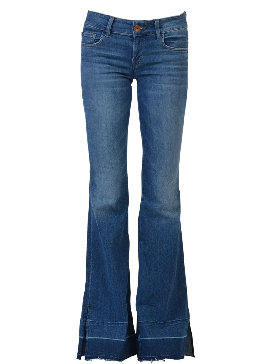 J Brand Classic Low-rise Flare Jeans