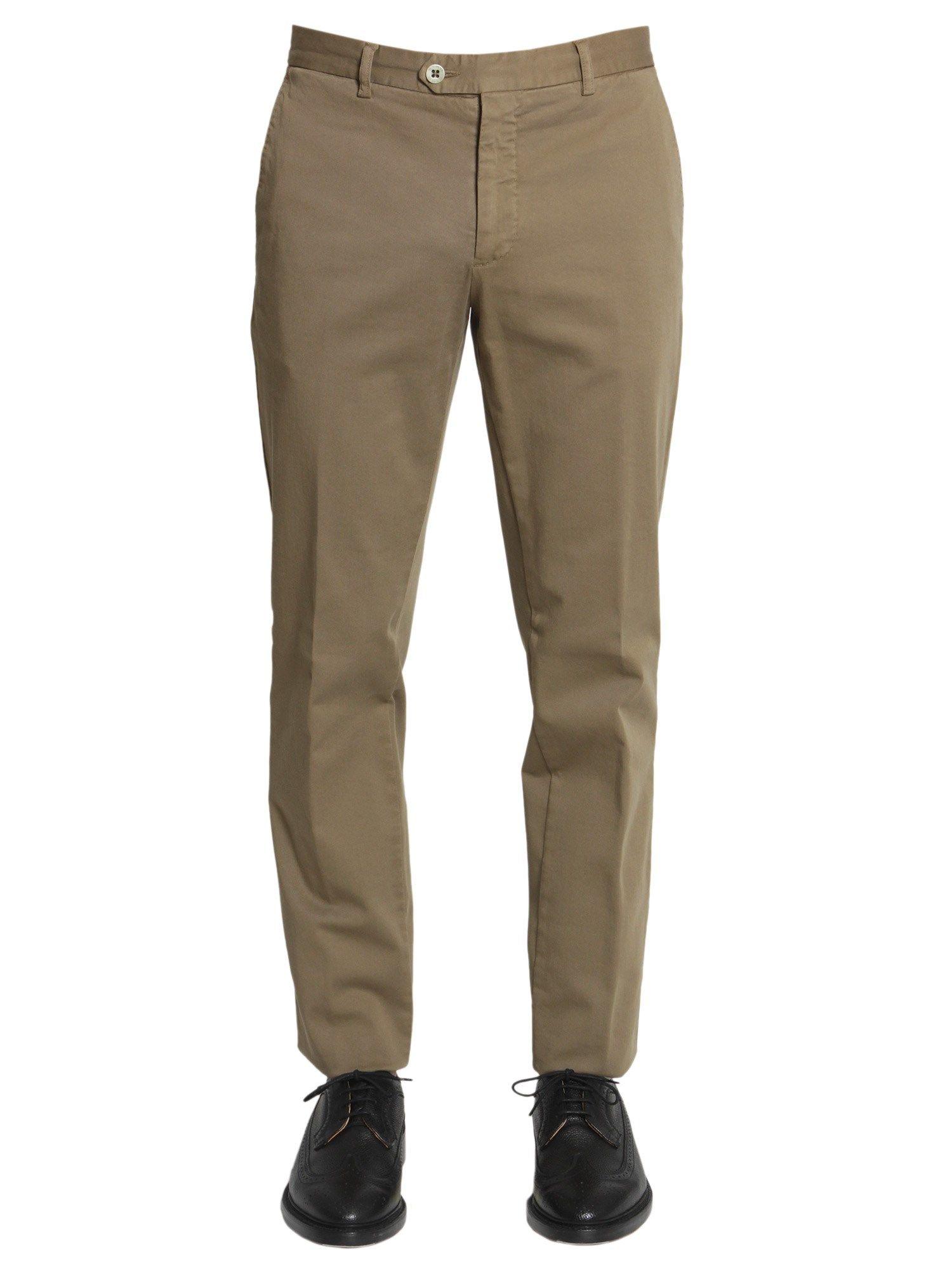 Slim Fit Panama Trousers