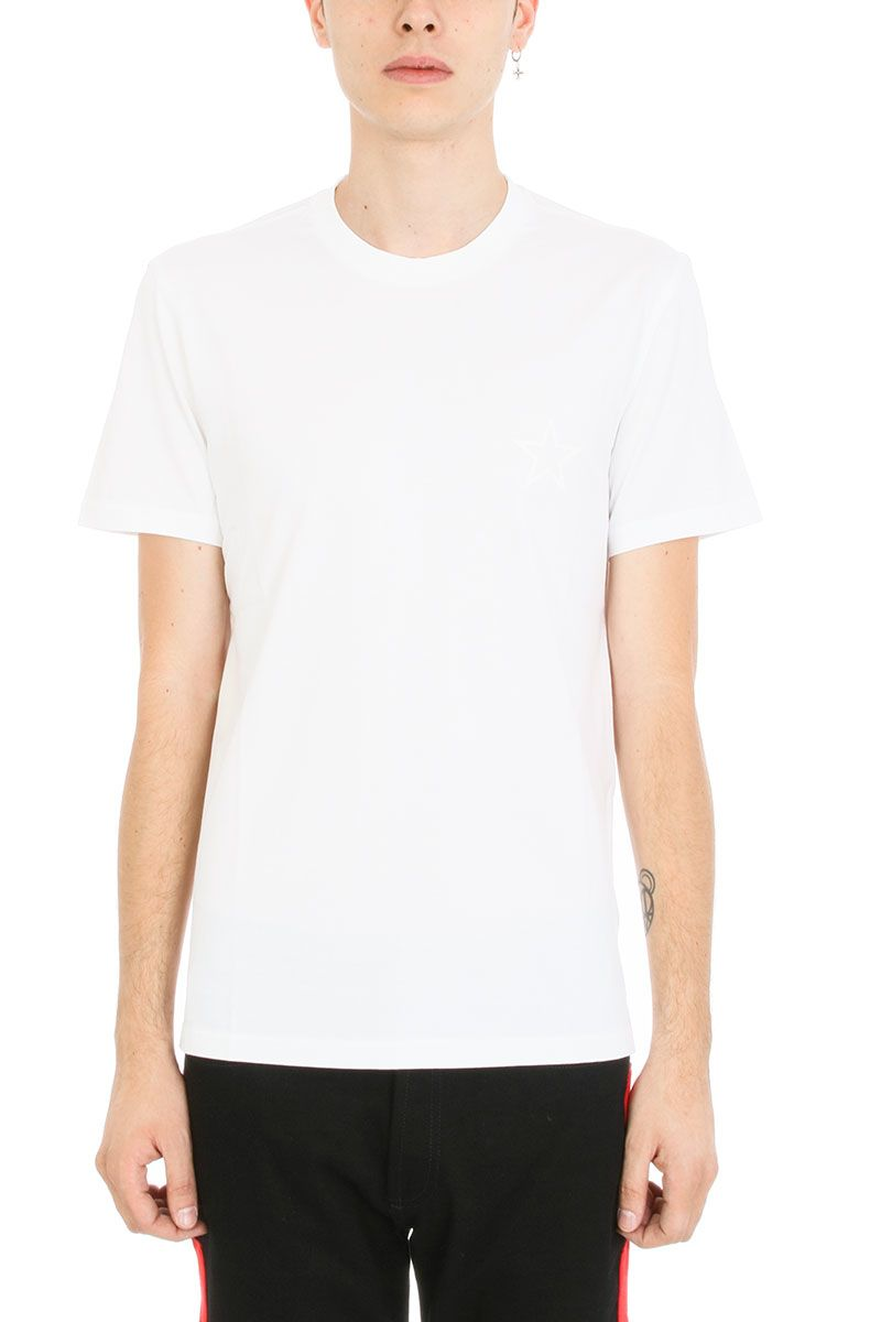Givenchy givenchy star print slim t shirt white men 39 s for Givenchy star t shirt