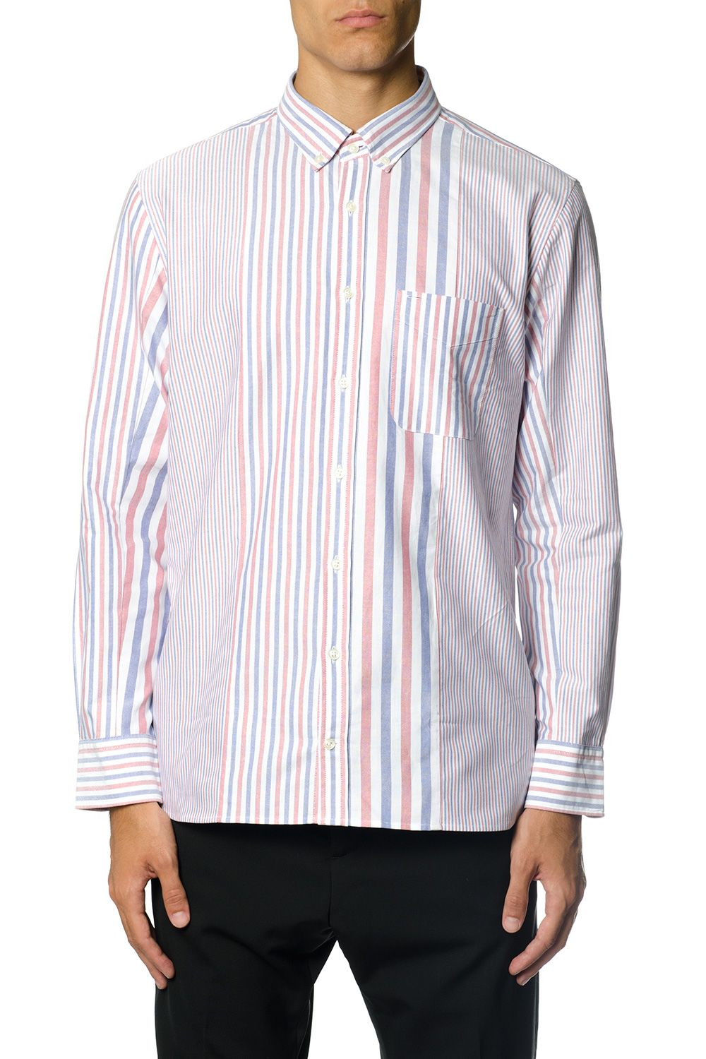 Tommy Hilfiger Buttondown Striped Cotton Shirt