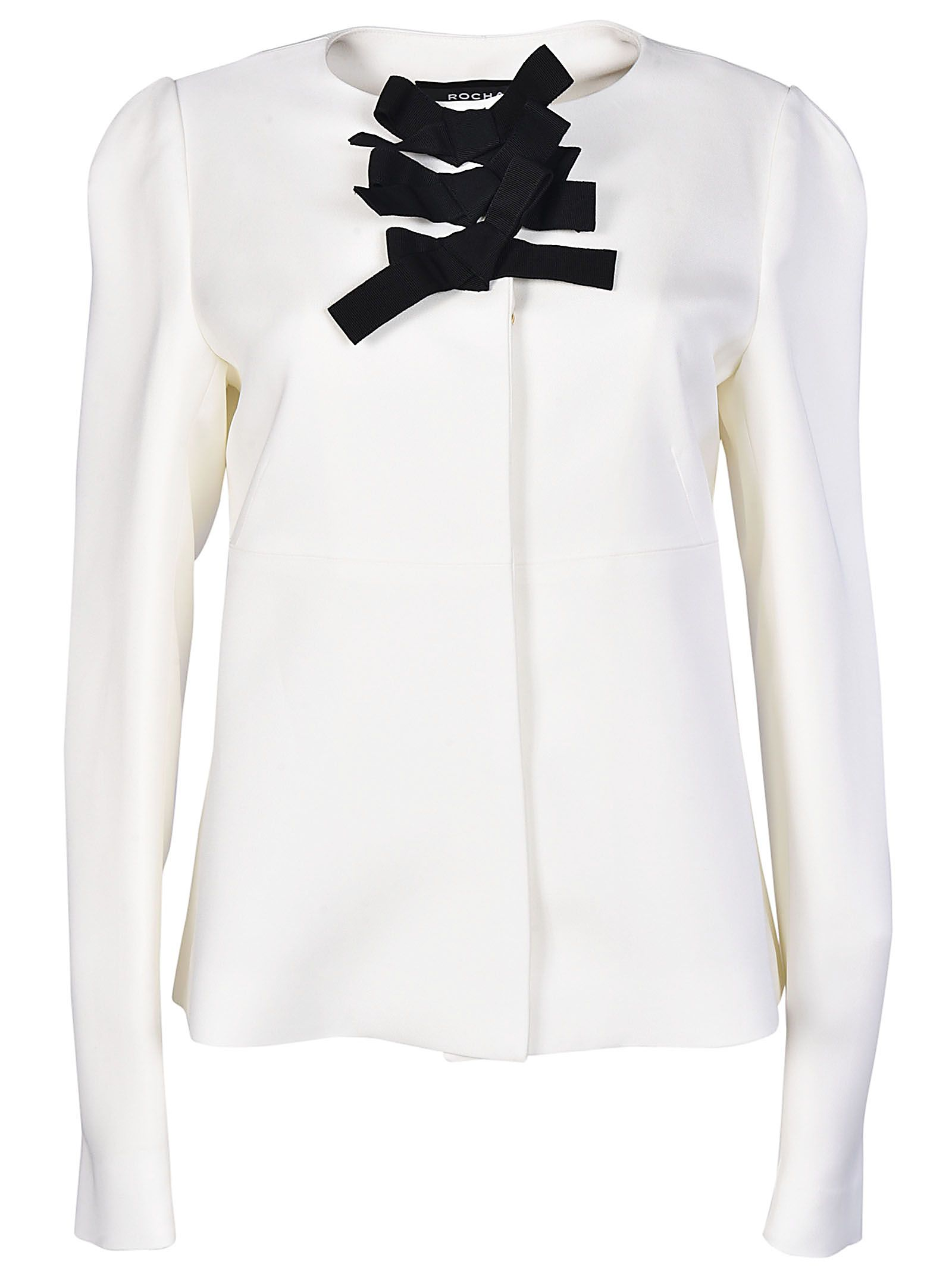 Rochas Bow Detailed Jacket