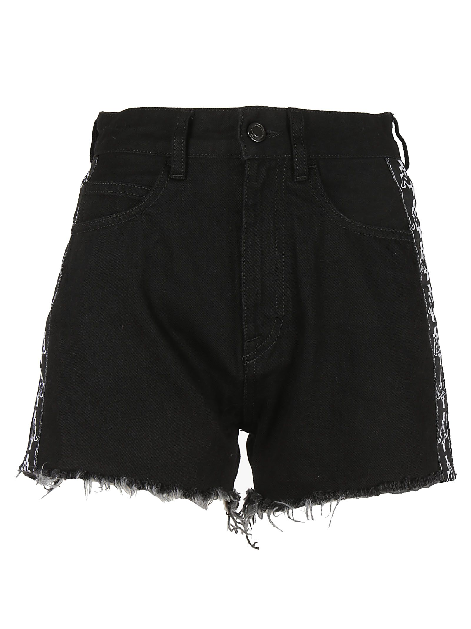 Marcelo Burlon Fringed Shorts