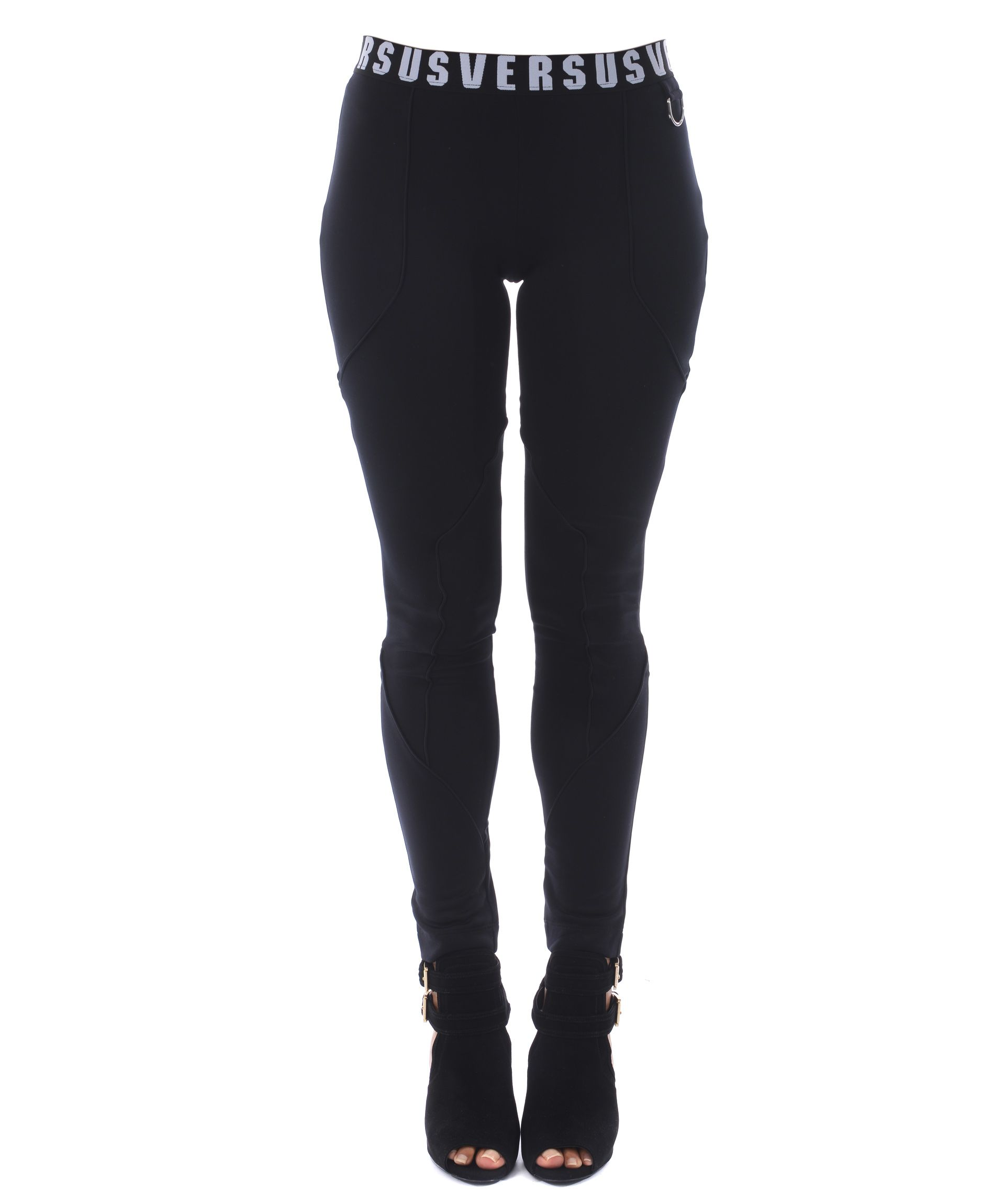 Versus Branded Waistband Leggings