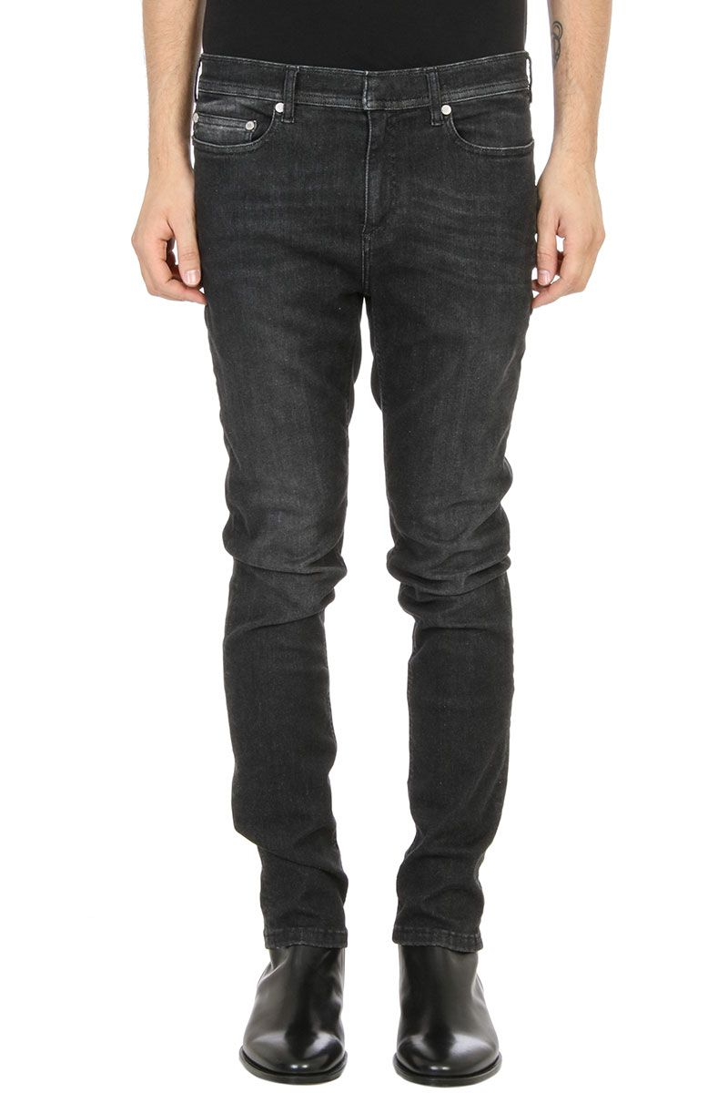 Neil Barrett Super Skinny Black Demin Jeans