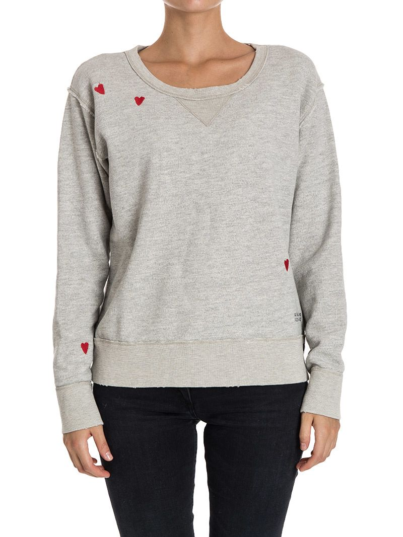 Scotch & Soda Cotton Blend Sweatshirt