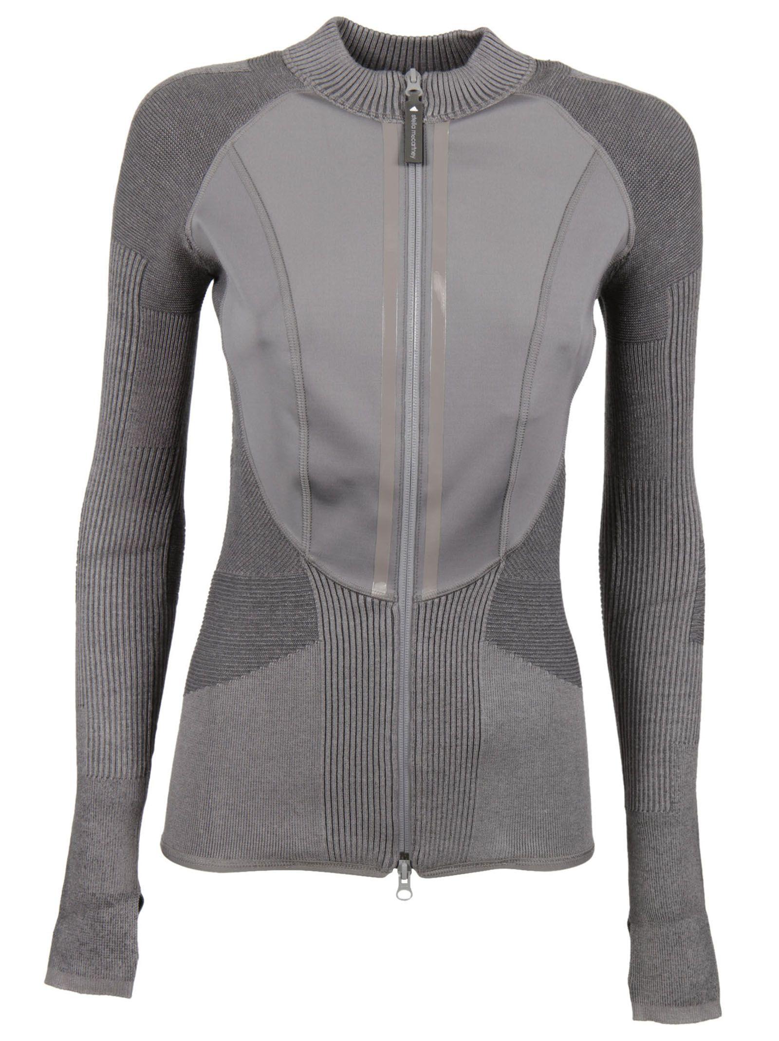 Adidas By Stella Mccartney Zipped Sweatshirt