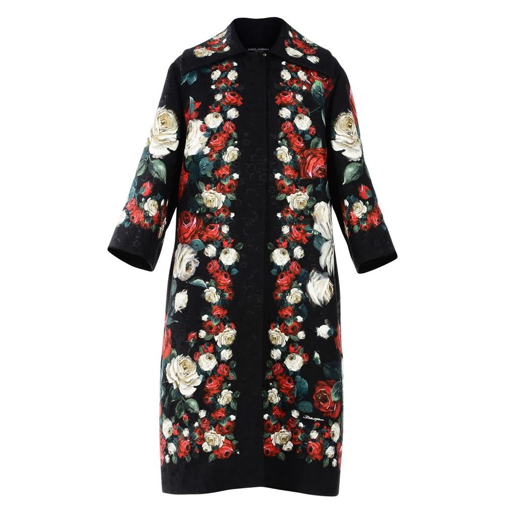 Dolce & Gabbana Broken Printed Coat