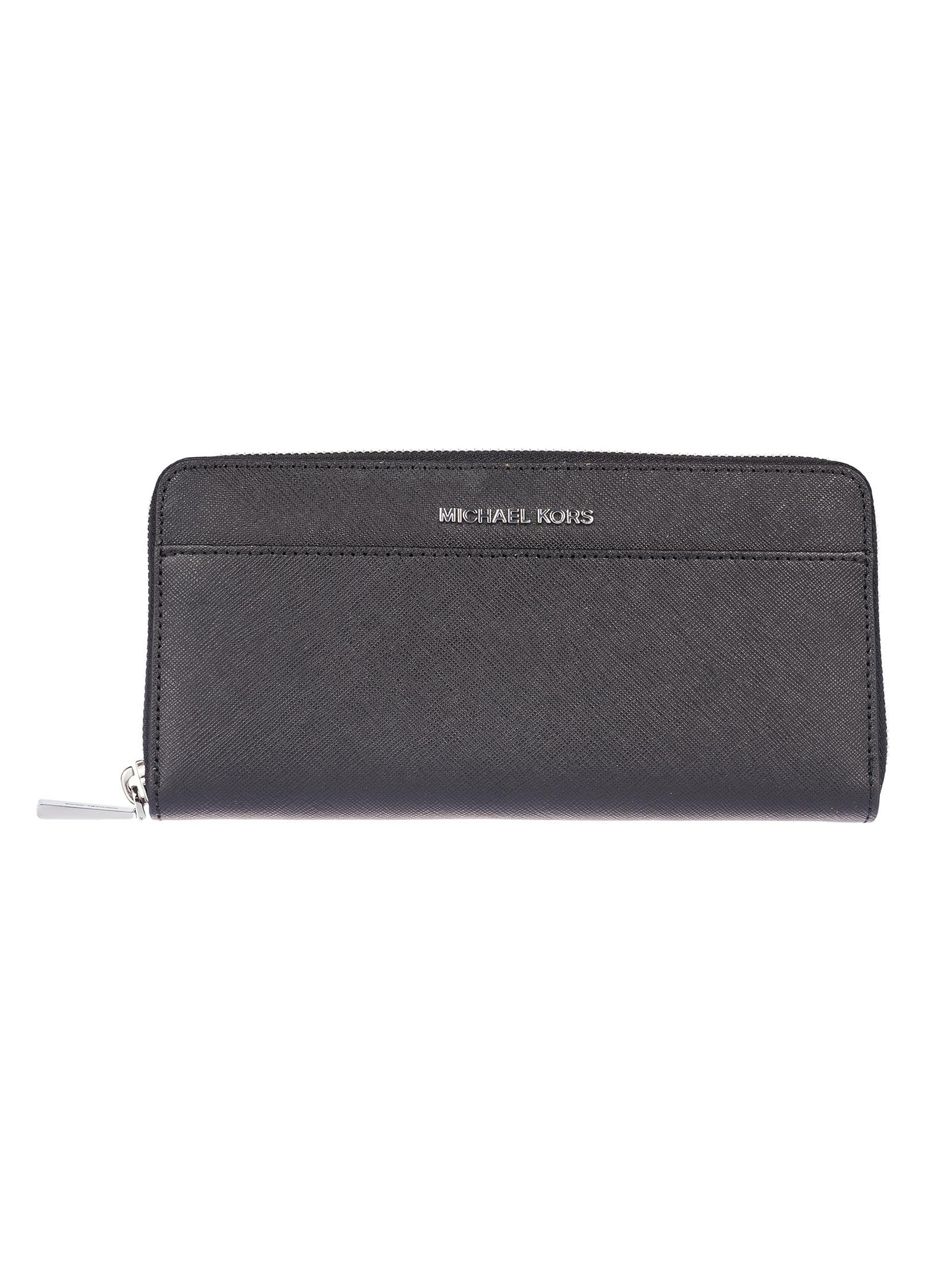 Michael Kors Jet Set Travel Zip Around Wallet