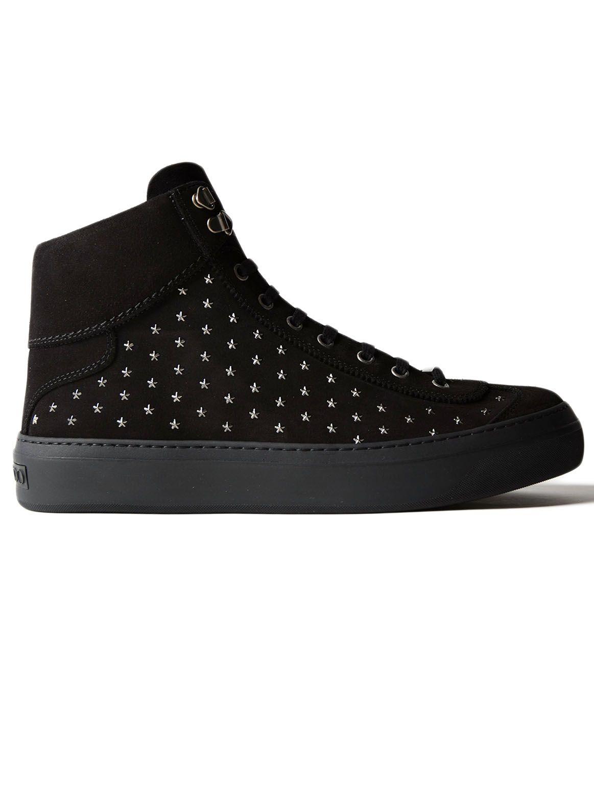 Jimmy Choo Suede Star Sneaker