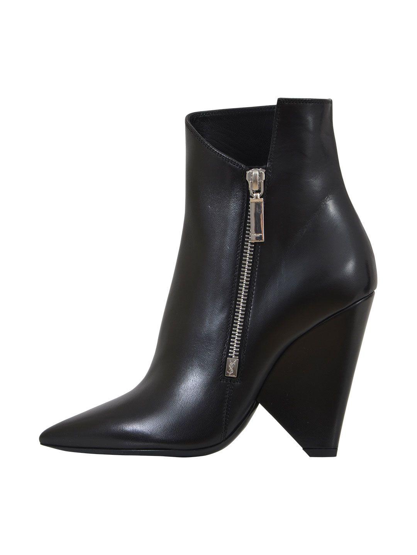 Saint Laurent 10,5cm Niki Ankle Boots