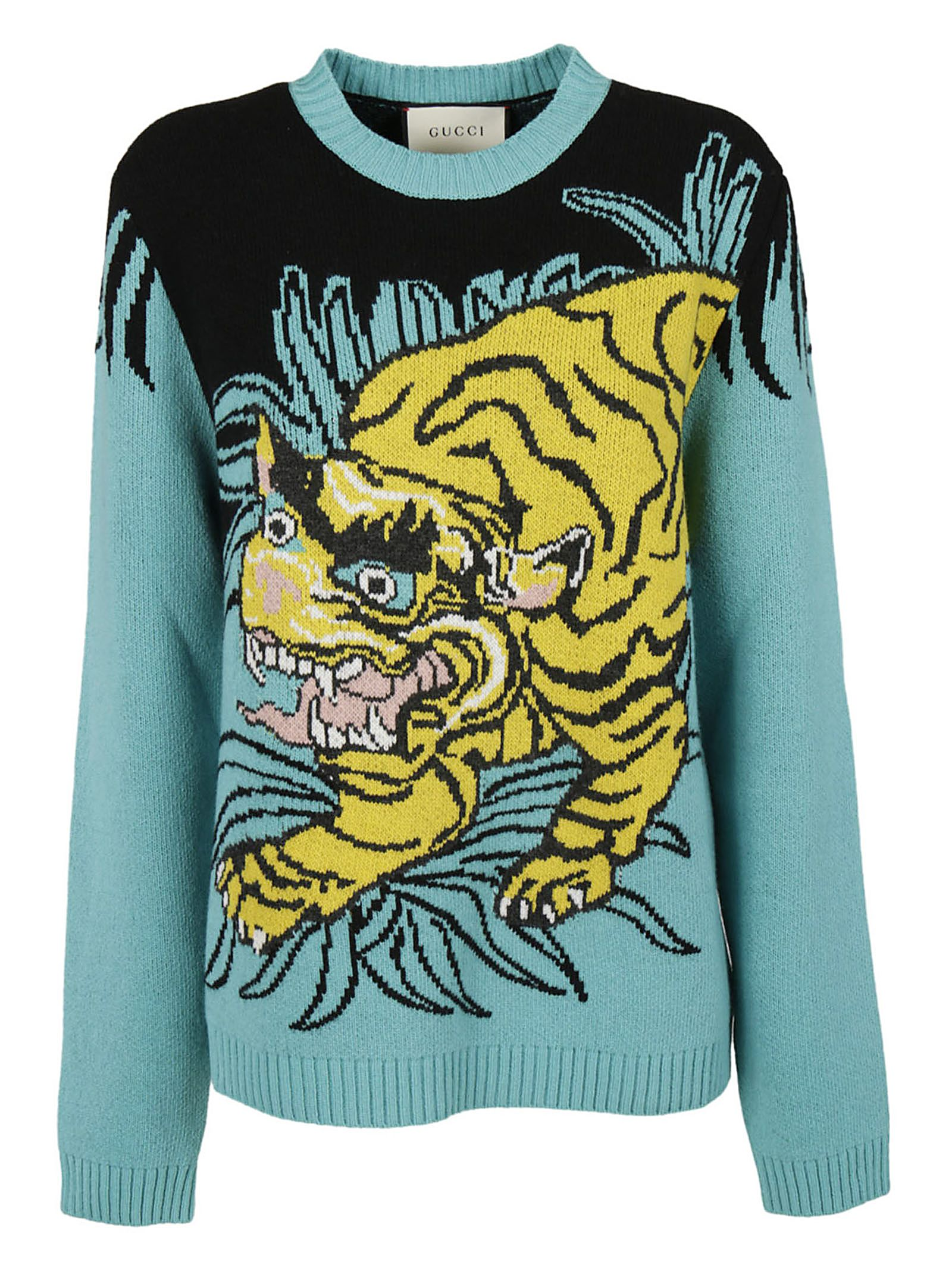 Gucci Tiger Intarsia Sweater