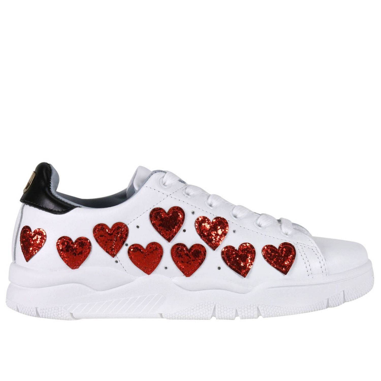 chiara ferragni sneakers shoes women chiara ferragni white women 39 s sneakers italist. Black Bedroom Furniture Sets. Home Design Ideas