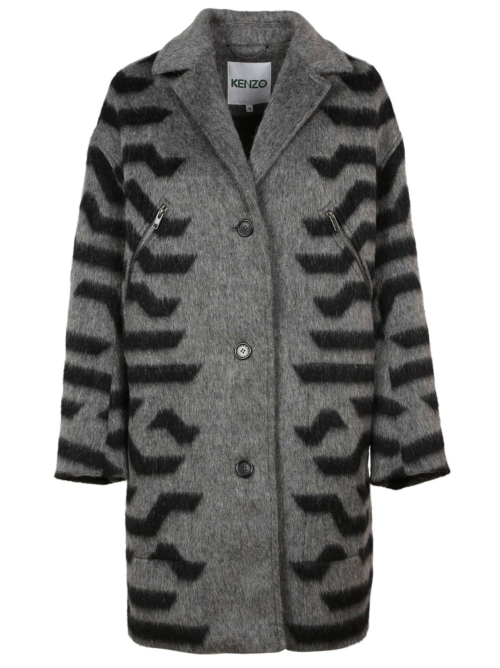 Kenzo Stripped Coat