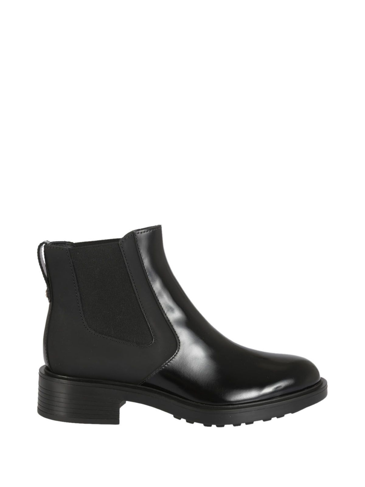 30MM BLACK LEATHER BOOTS
