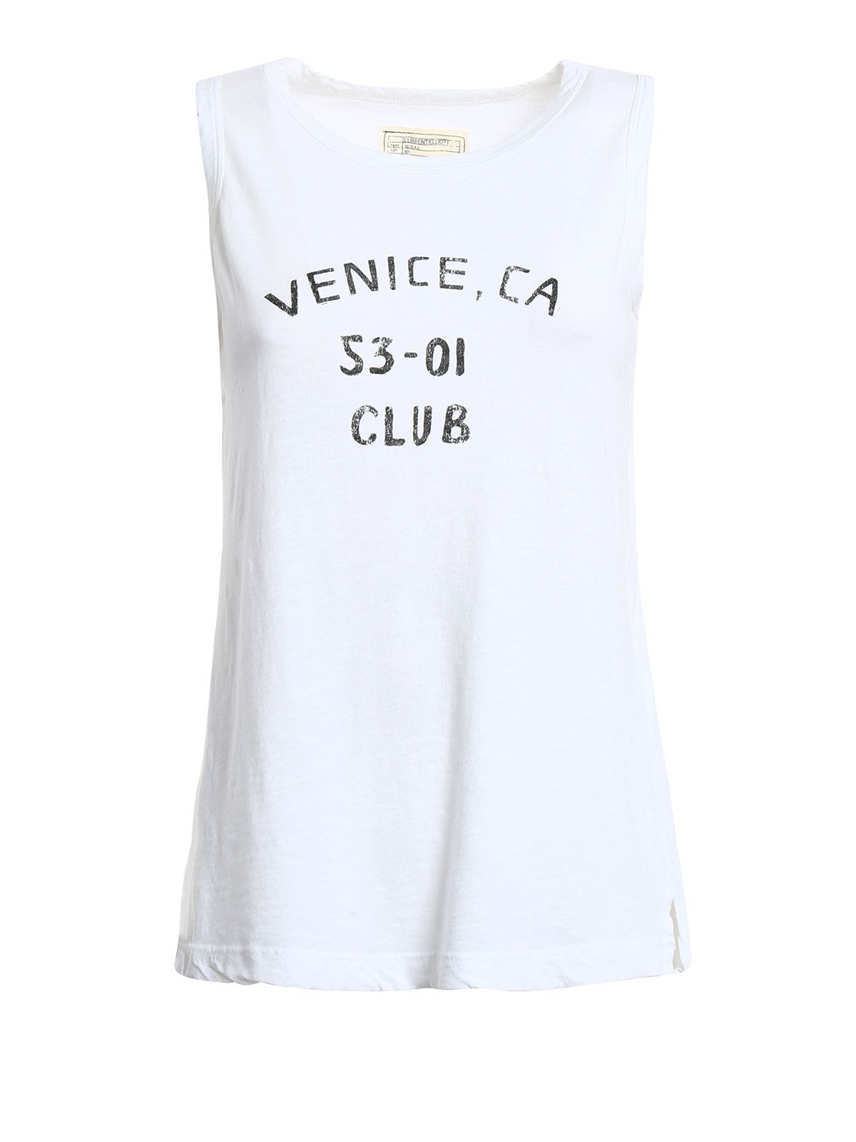 Current/elliott The Muscle Jersey Tank Top