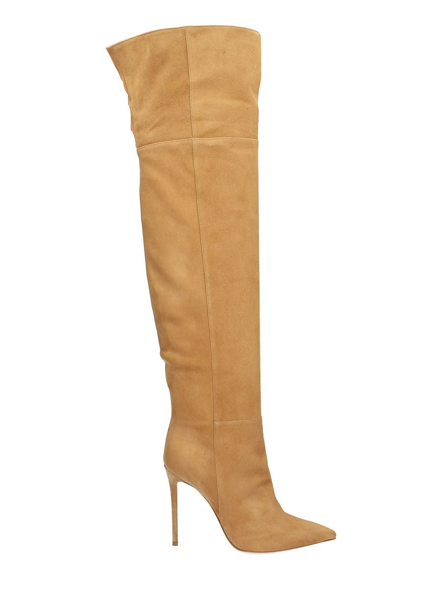 Lerre Boots In Suede Leather Color