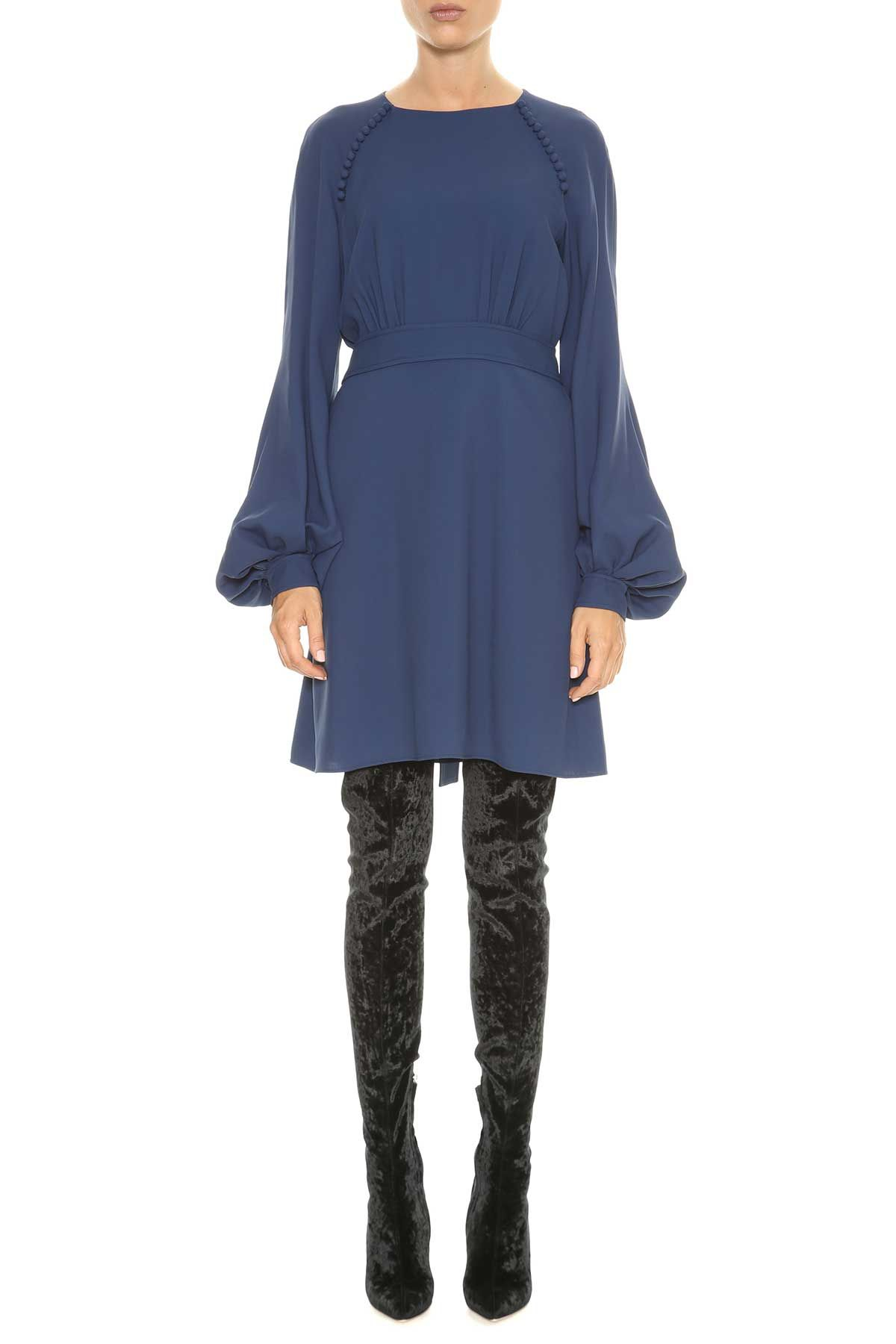 Chloé Short Dress With Wide Sleeves