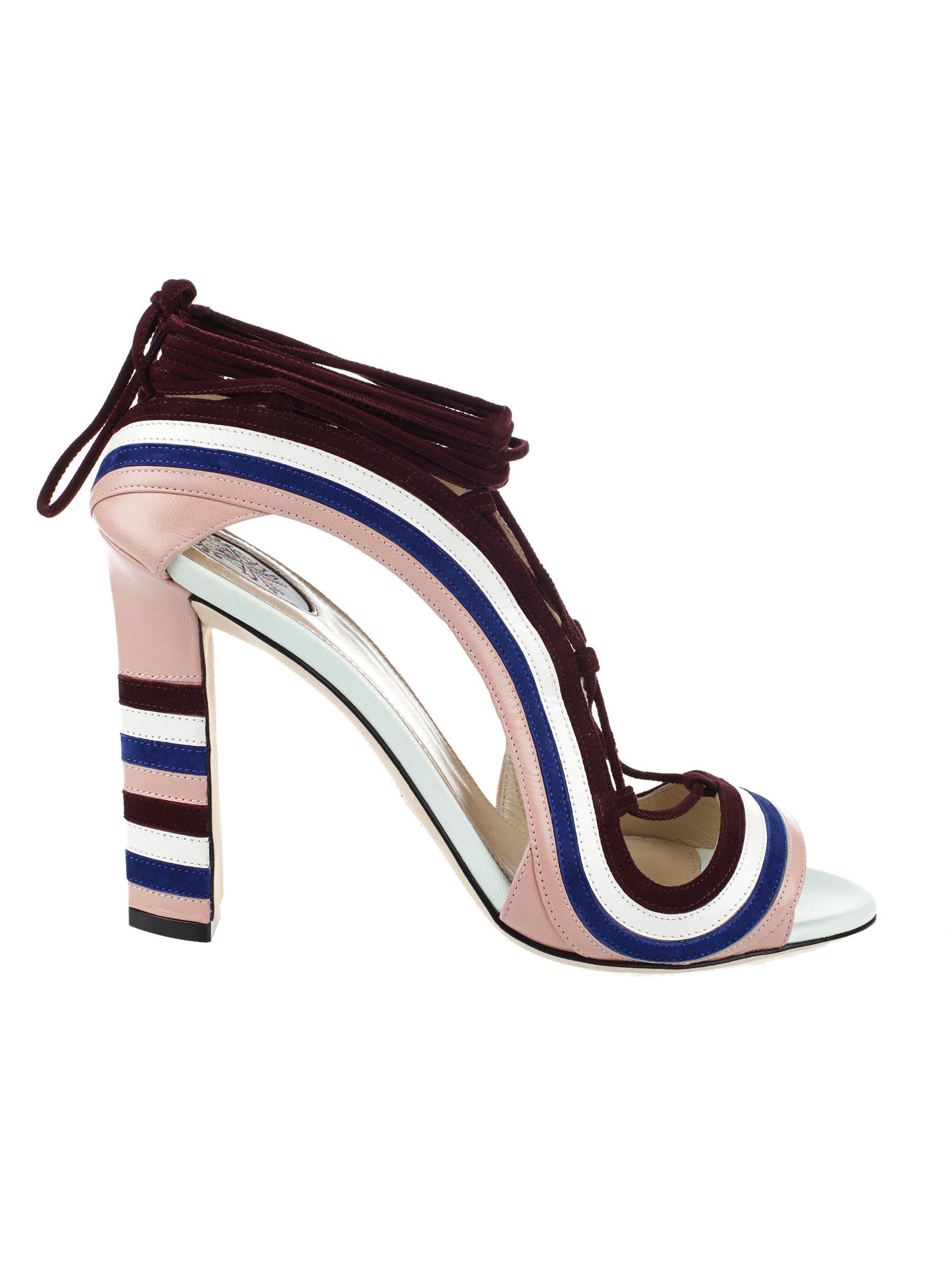 Paula Cademartori Crazy Stripes Sandal