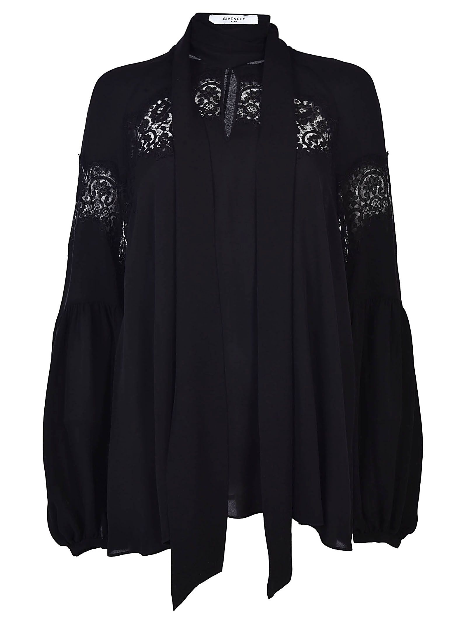 Givenchy Pussy Bow Blouse