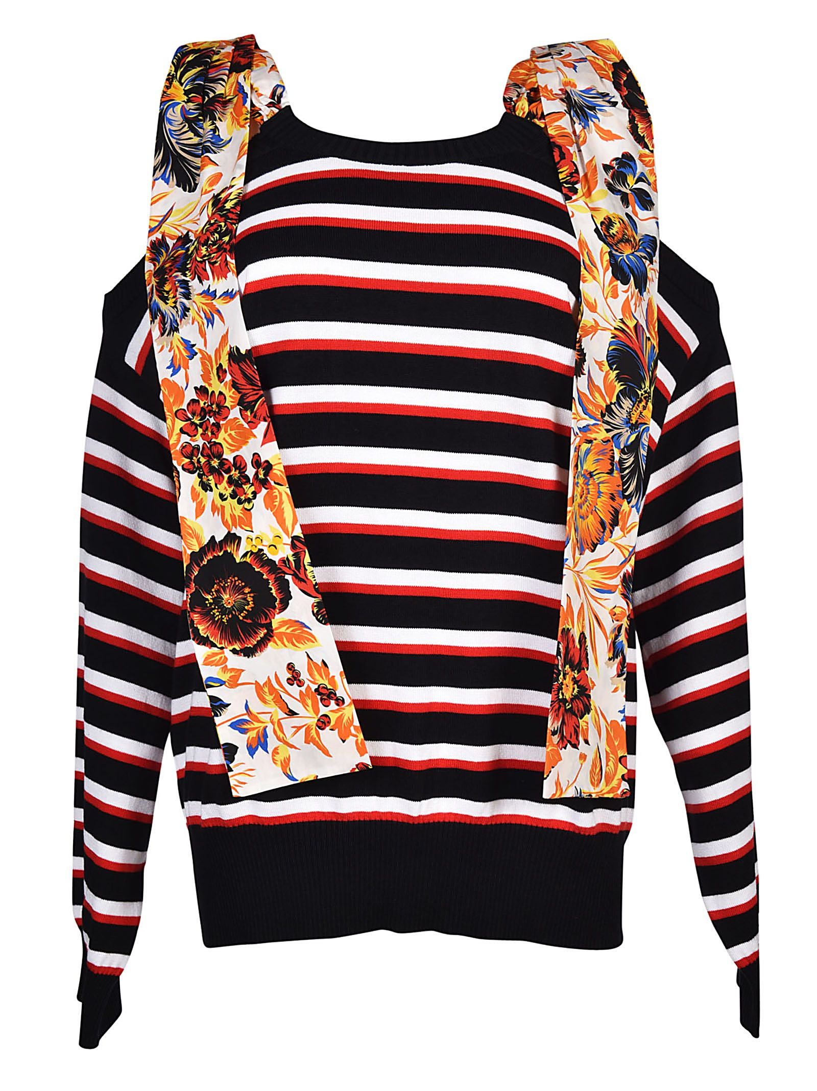 MSGM Shoulder Tie Sweater