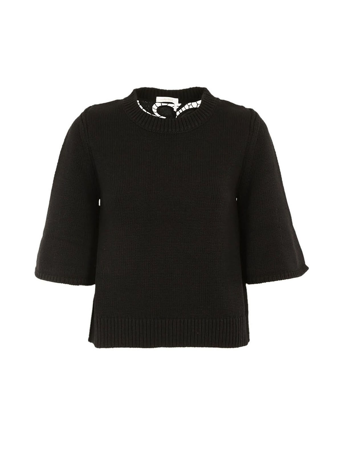 See By Chlo? Flared Cuff Sweater
