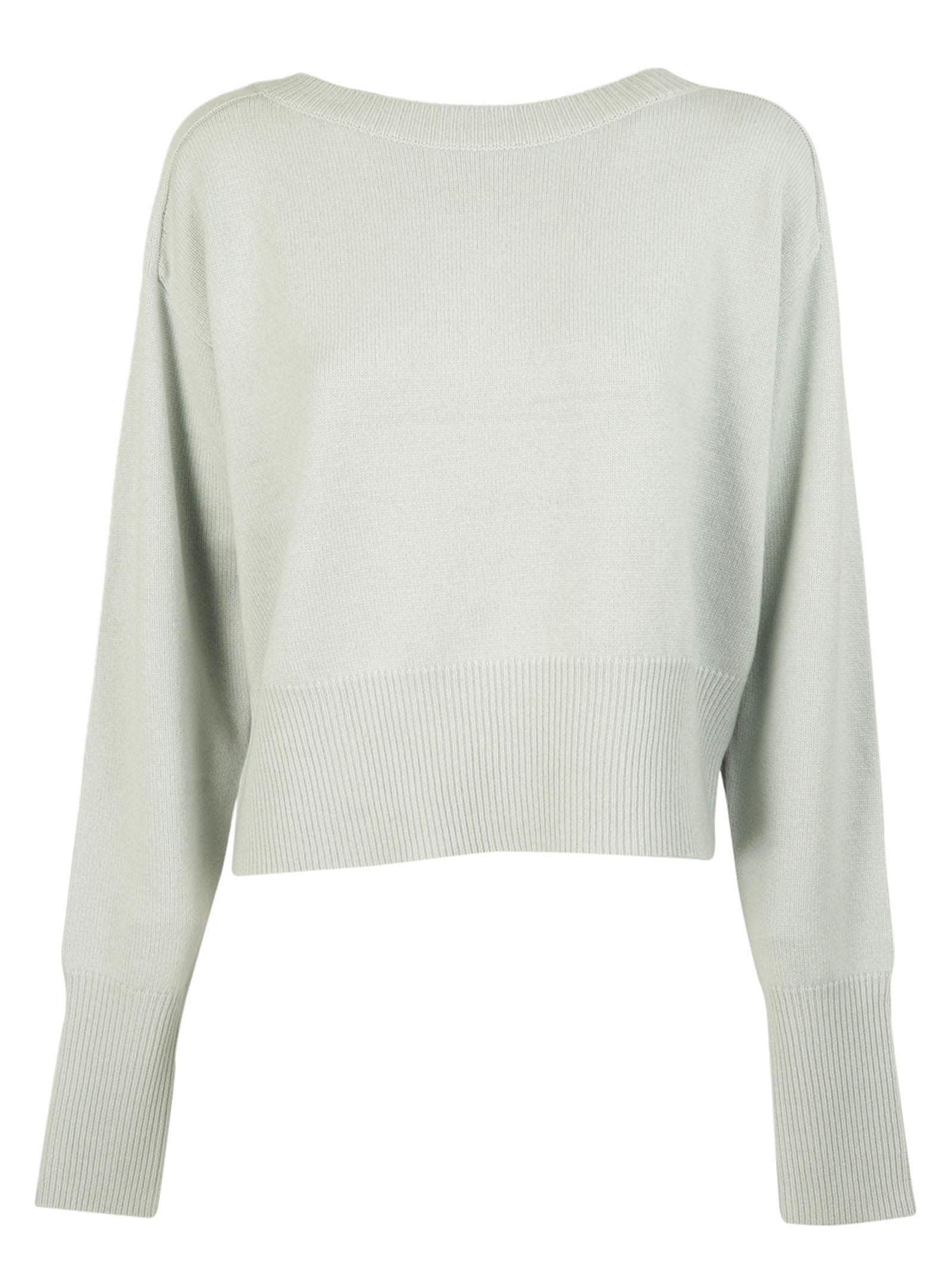 Theory Ribbed Waistband Jumper
