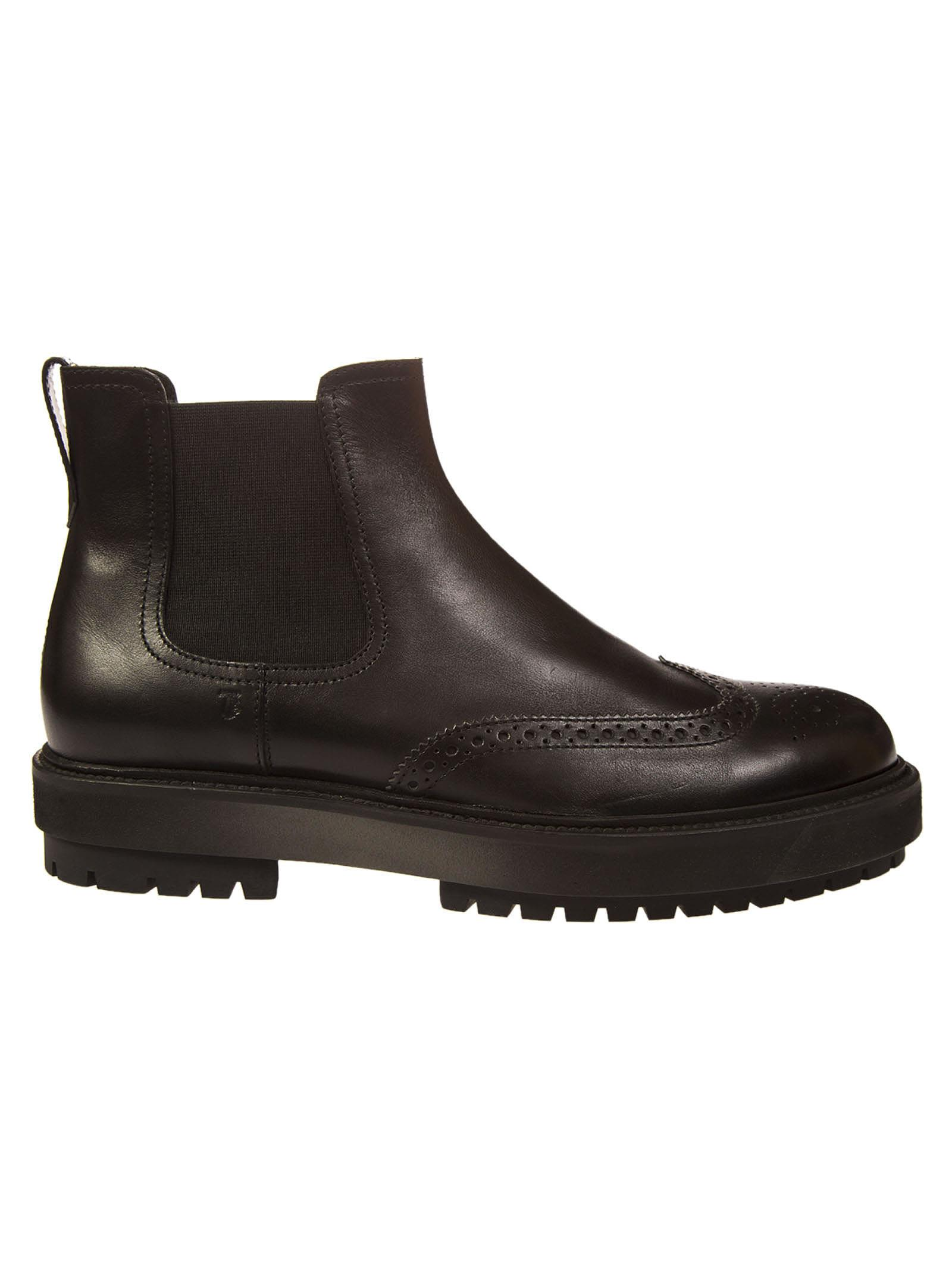 Tods Chunky Sole Chelsea Sneakers