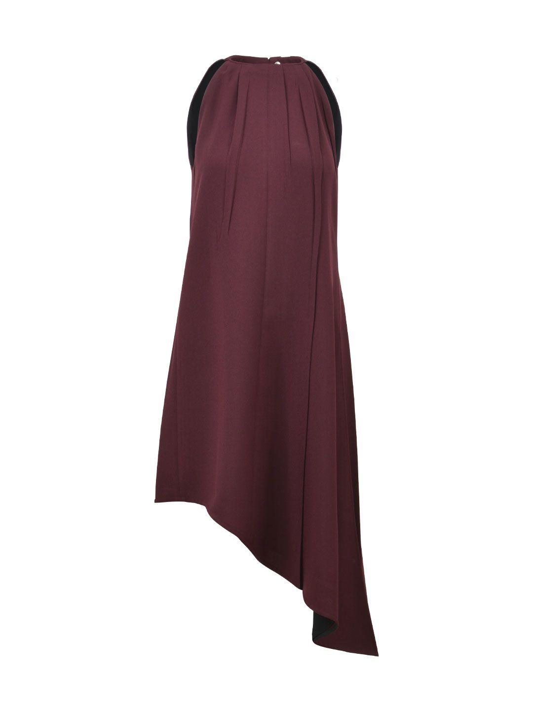 Celine Burgundy Tunic Dress