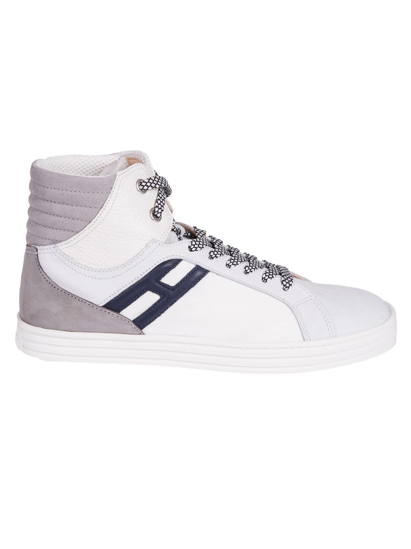 Hogan Rebel Basket Hi-top Sneakers